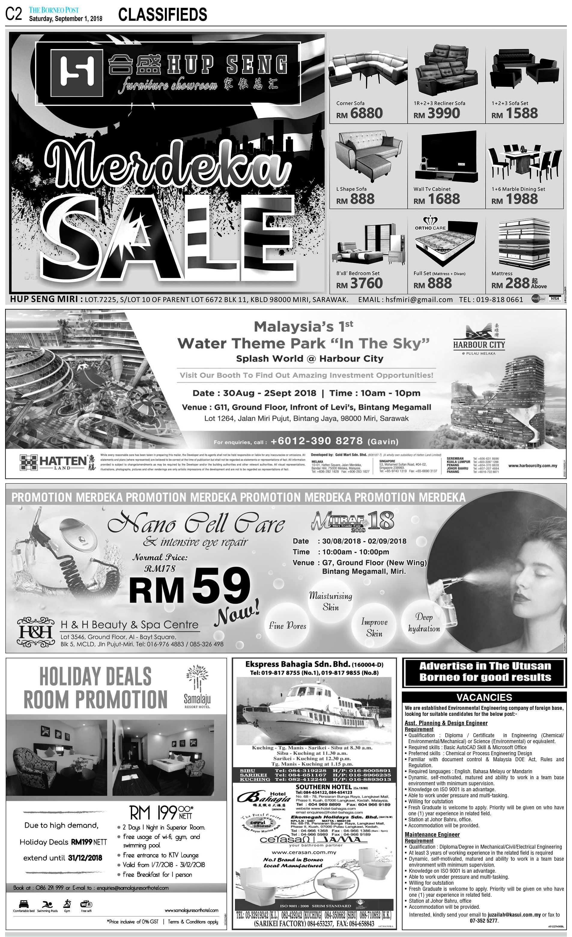 The Borneo Post | The Borneo Post Classifieds
